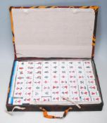 20TH CENTURY CHINESE ORIENTAL MAHJONG GAME SET