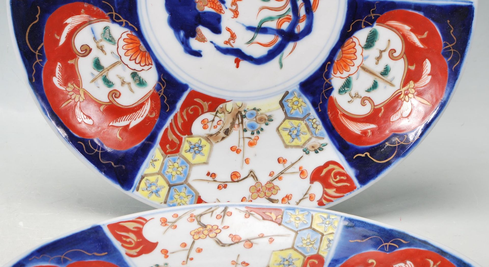 TWO 19TH CETURY 20TH CETURY CHINESE ORIENTAL CHARGERS - Image 3 of 7