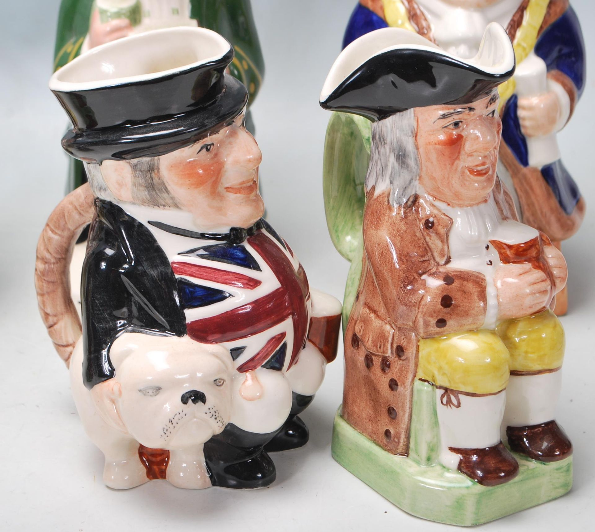 LARGE GROUP OF 20TH CENTURY CERAMIC TOBY JUGS - Image 4 of 9