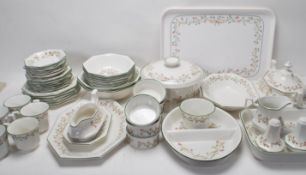 LAARGE DINNER SERVICE BY JOHNSON BROS ETERNAL BEAU