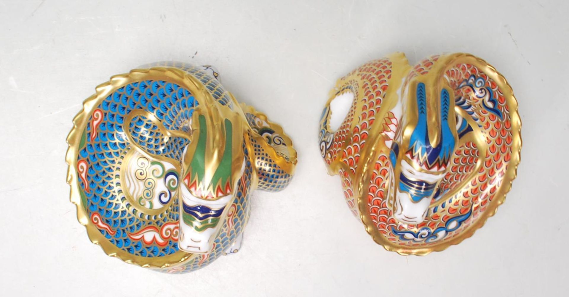 TWO ROYAL DOULTON PAPERWEIGHTS - Image 3 of 7