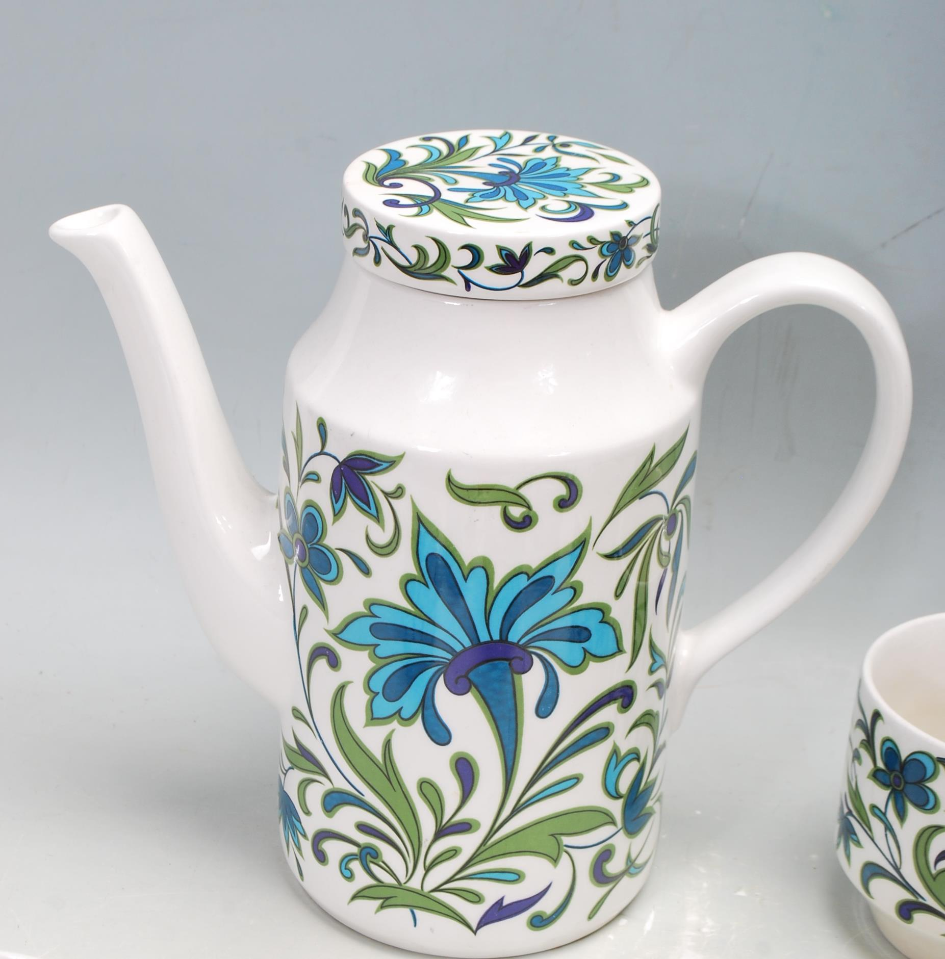 RETRO VINTAGE MID 20TH CENTURY MIDWINTER SPANISH GARDEN TEA SERVICE - Image 6 of 7