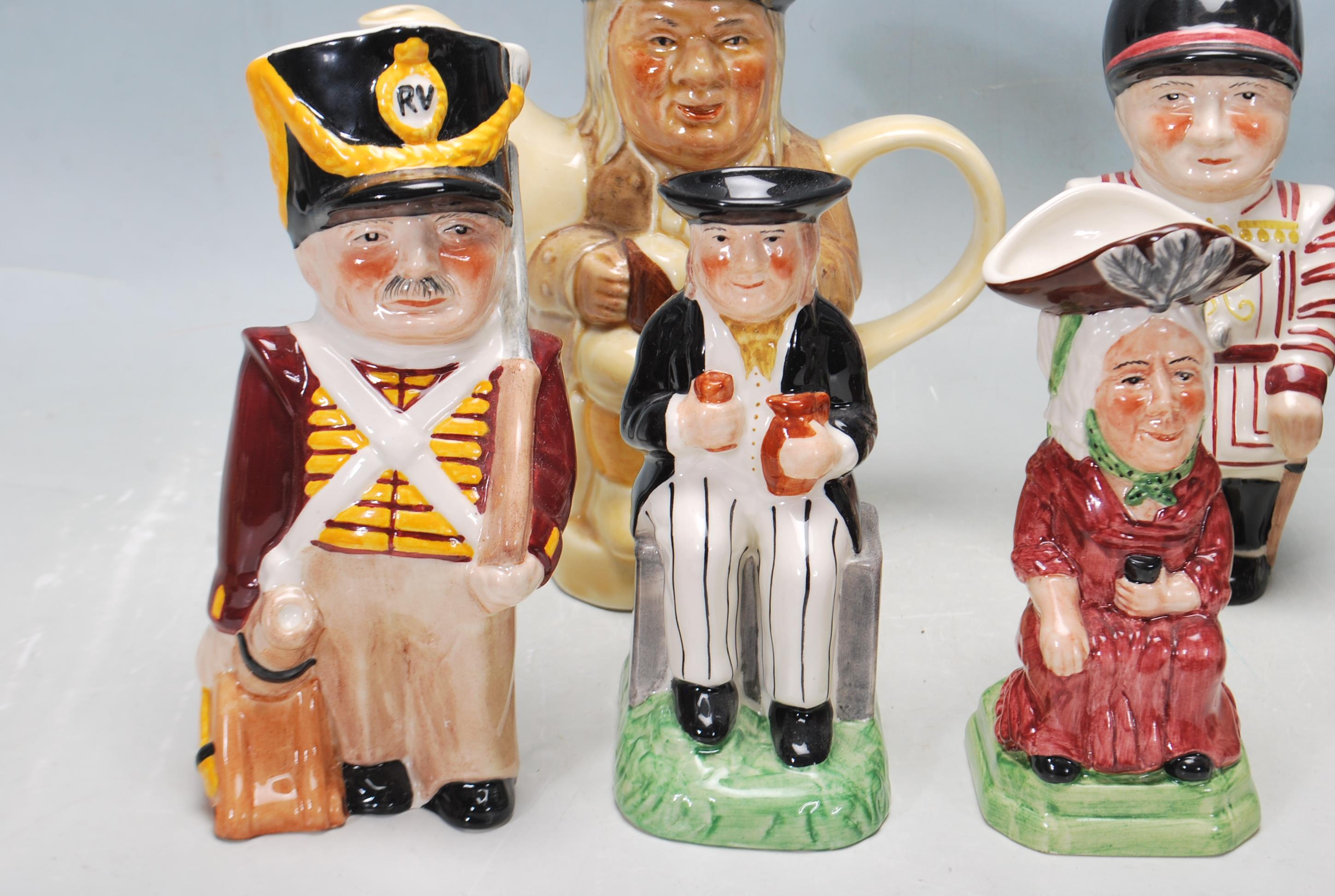 LARGE GROUP OF 20TH CENTURY CERAMIC TOBY JUGS - Image 9 of 9