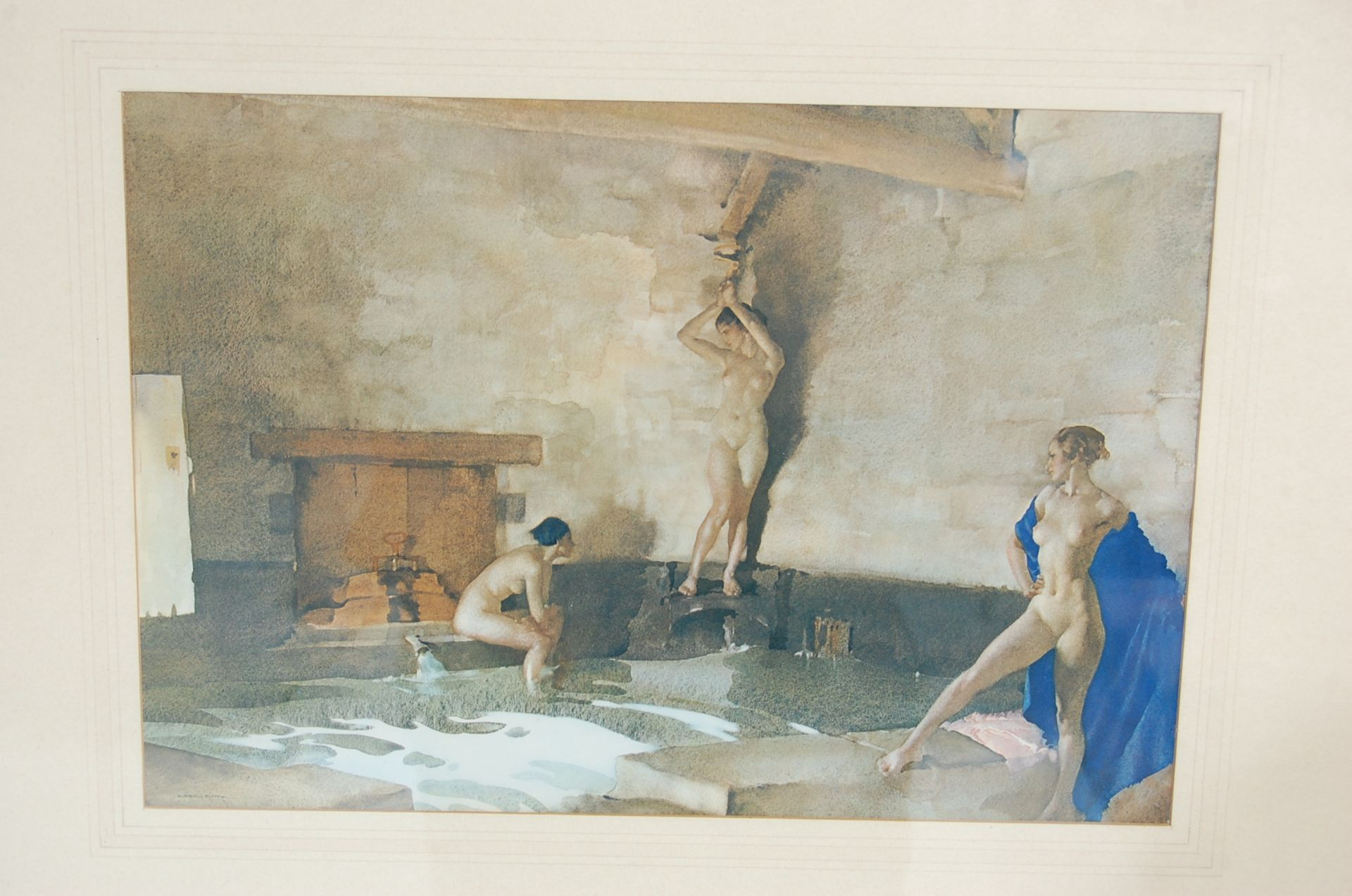 SEVEN WILLIAM RUSSELL FLINT PRINTS - Image 9 of 10