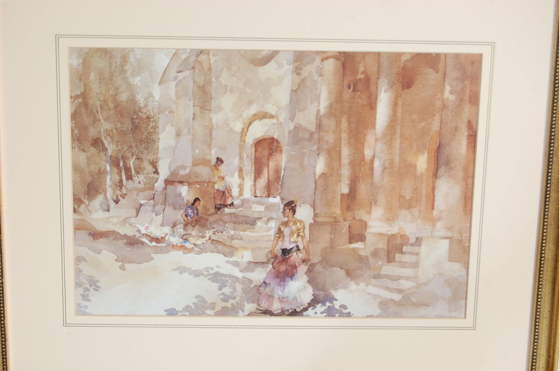 SEVEN WILLIAM RUSSELL FLINT PRINTS - Image 8 of 10