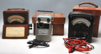 COLLECTION OF MID CENTURY ELECTRICAL TESTERS.