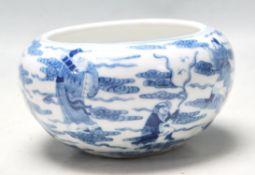 ANTIQUE CHINESE KANGXI 19TH CENTURY WATER BOWL