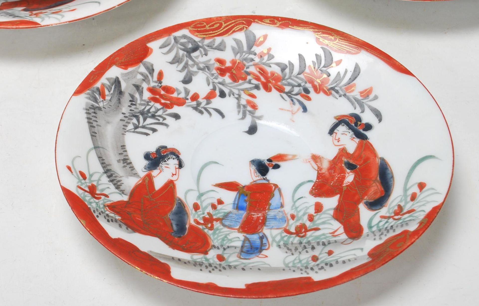 1950'S JAPANESE KUTANI TEA SETS - Image 3 of 12