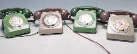 COLLECTION OF RETRO TELEPHONES - BT & RELIANCE