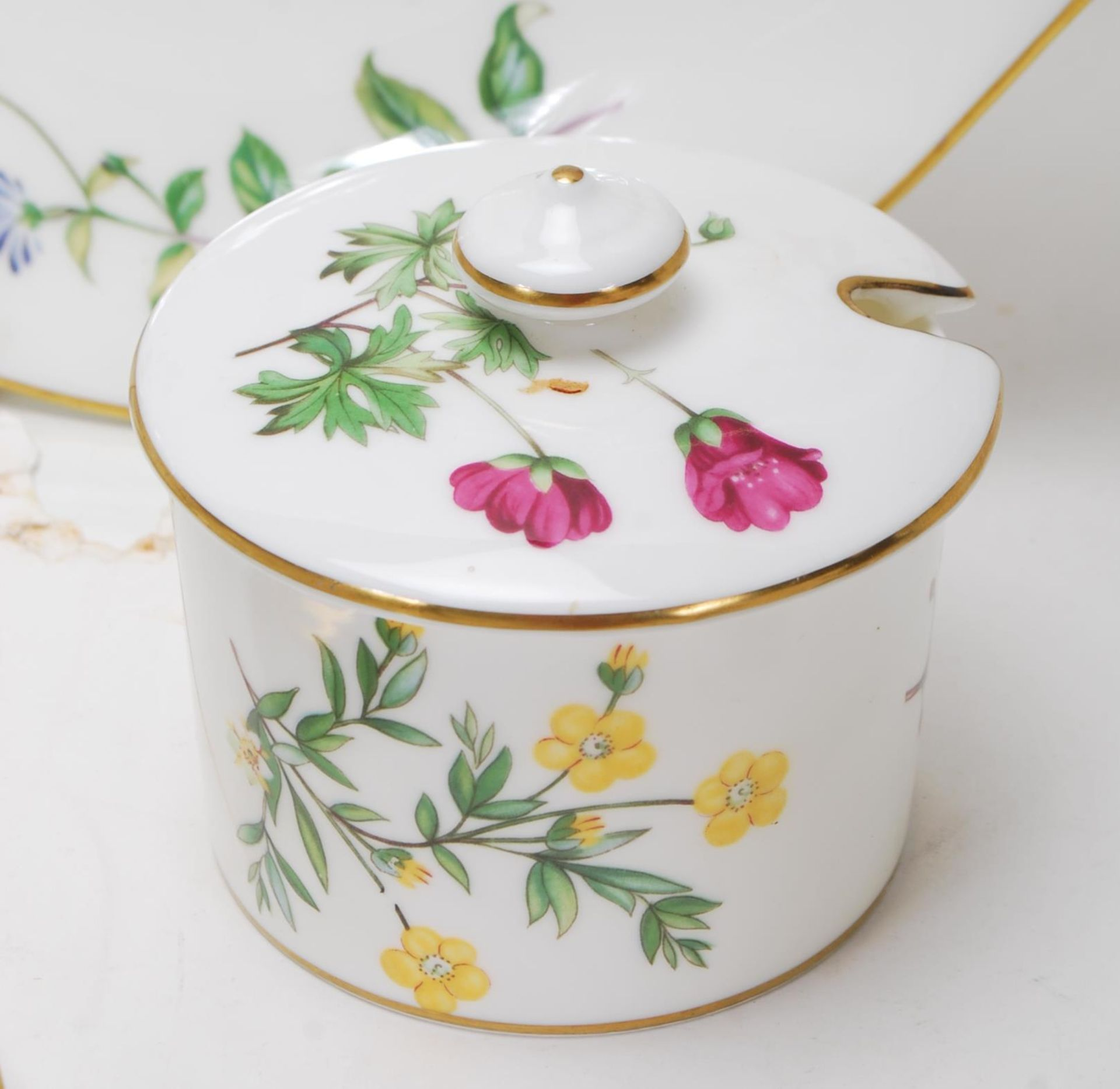 MINTON MEADOW PATTERN BONE CHINA TEA SERVICE - Image 7 of 12