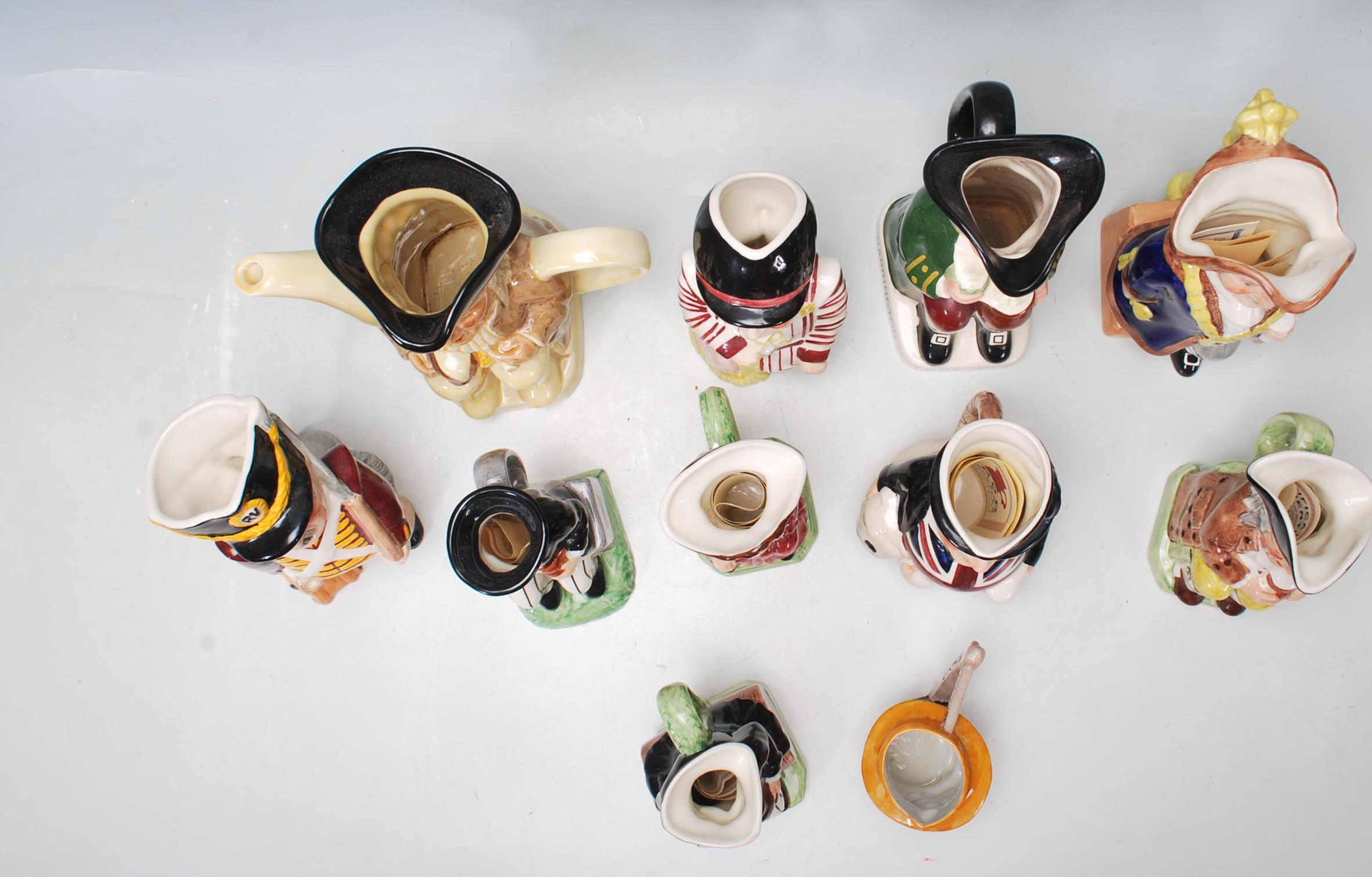 LARGE GROUP OF 20TH CENTURY CERAMIC TOBY JUGS - Image 2 of 9