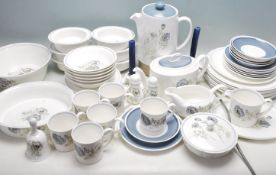 LARGE DINNER SERVICE BY WEDGWOOD - SUSIE COOPER DESIGN