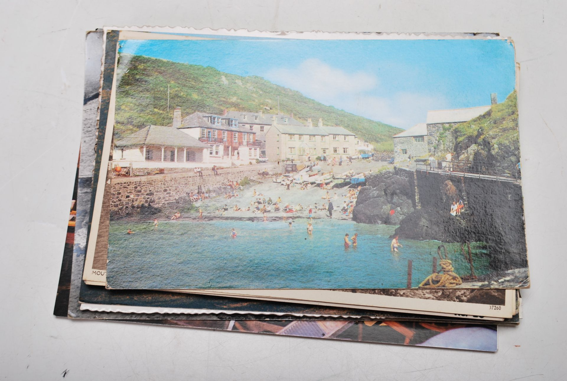 COLLECTION OF VINTAGE POSTCARDS - CORNWALL BRISTOL - Image 5 of 6