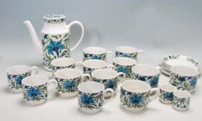 RETRO VINTAGE MID 20TH CENTURY MIDWINTER SPANISH GARDEN TEA SERVICE