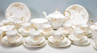 VICTORIAN 19TH CENTURY BONE CHINA TEA SERVICE