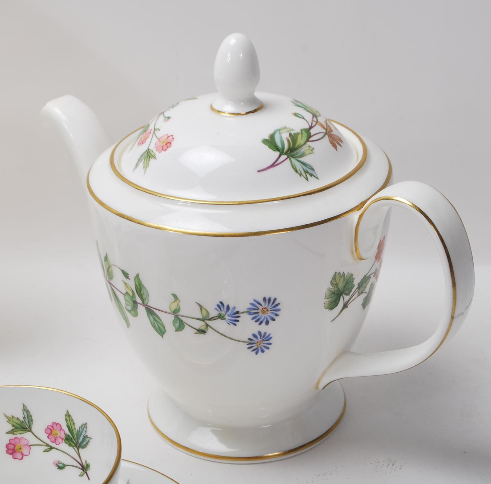 MINTON MEADOW PATTERN BONE CHINA TEA SERVICE - Image 11 of 12