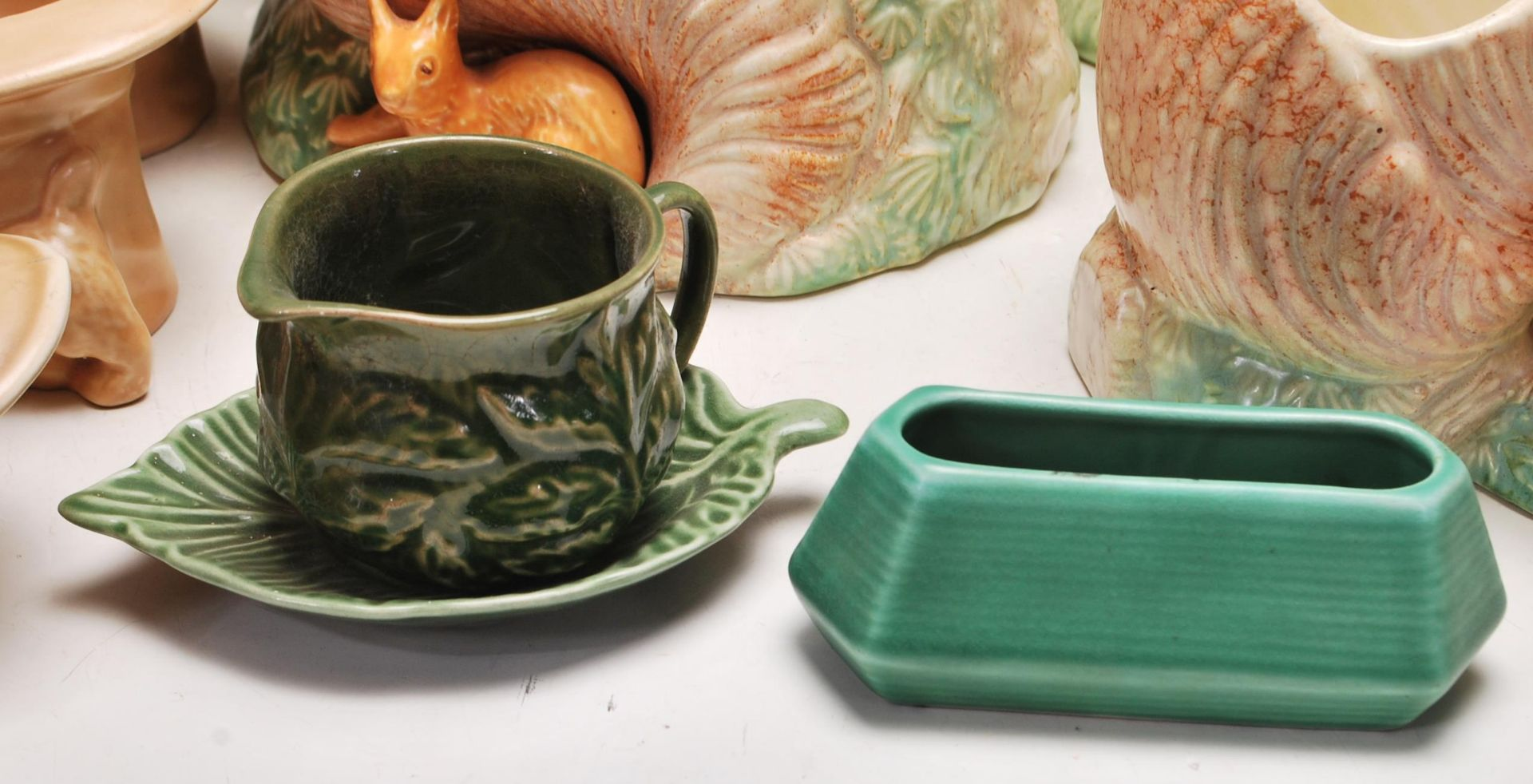 COLLECTION OF VINTAGE MID 20TH CENTURY SYLVAC CERAMIC POTTERY - Image 4 of 13