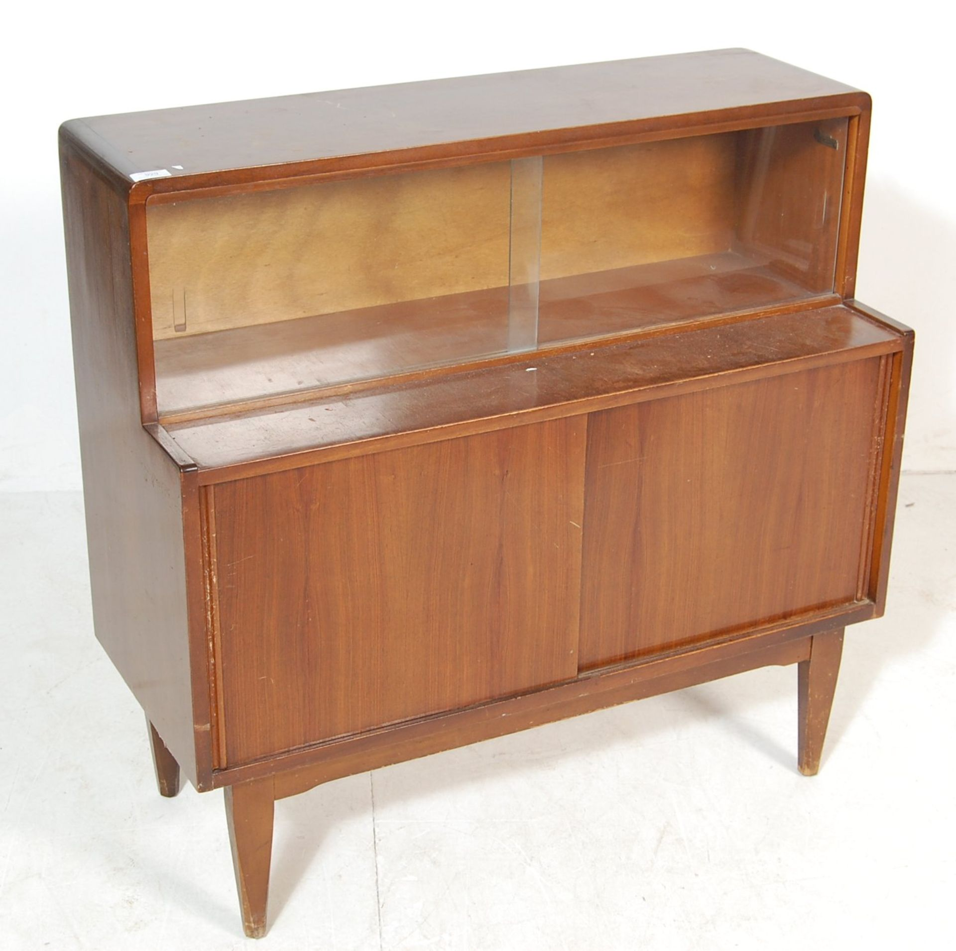 RETRO VINTAGE MID CENTURY TEAK WOOD HIGHBOARD - Image 2 of 5