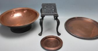 COLLECTOIN OF 19TH CENTURY AND LATER COPPER WARES