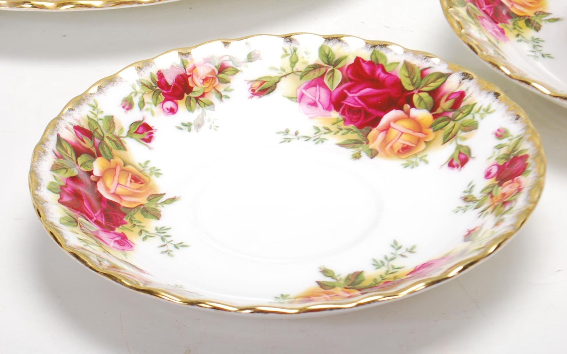 ROYAL ALBERT OLD COUNTRY ROSES TEA SET -TEA SERVICE - Image 3 of 8
