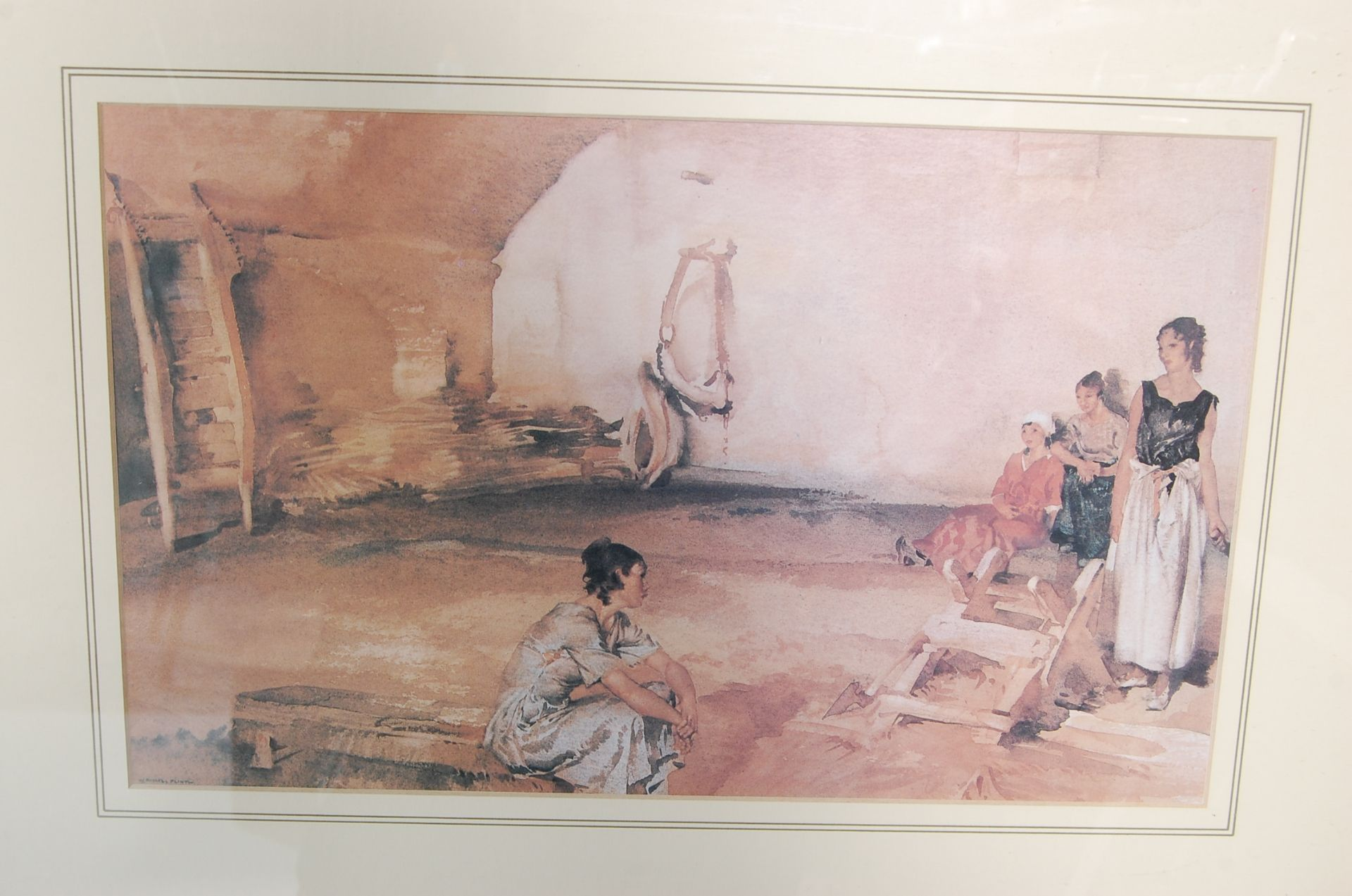 SEVEN WILLIAM RUSSELL FLINT PRINTS - Image 7 of 10