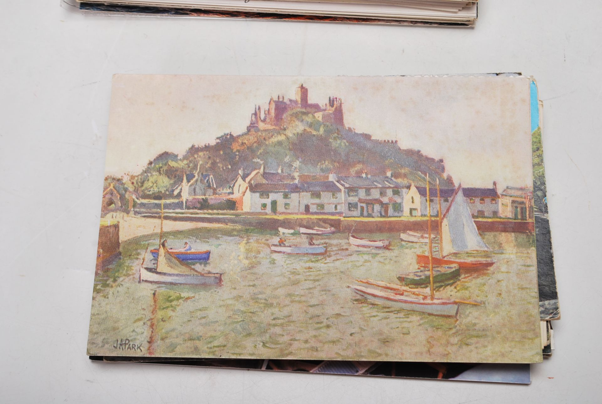 COLLECTION OF VINTAGE POSTCARDS - CORNWALL BRISTOL - Image 4 of 6