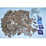 LARGE COLLECTION OF 19TH AND 20TH CENTURY COINS