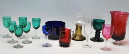 WITHDRAWN - COLLECTION OF VINTAGE MID 20TH CENTURY GLASS