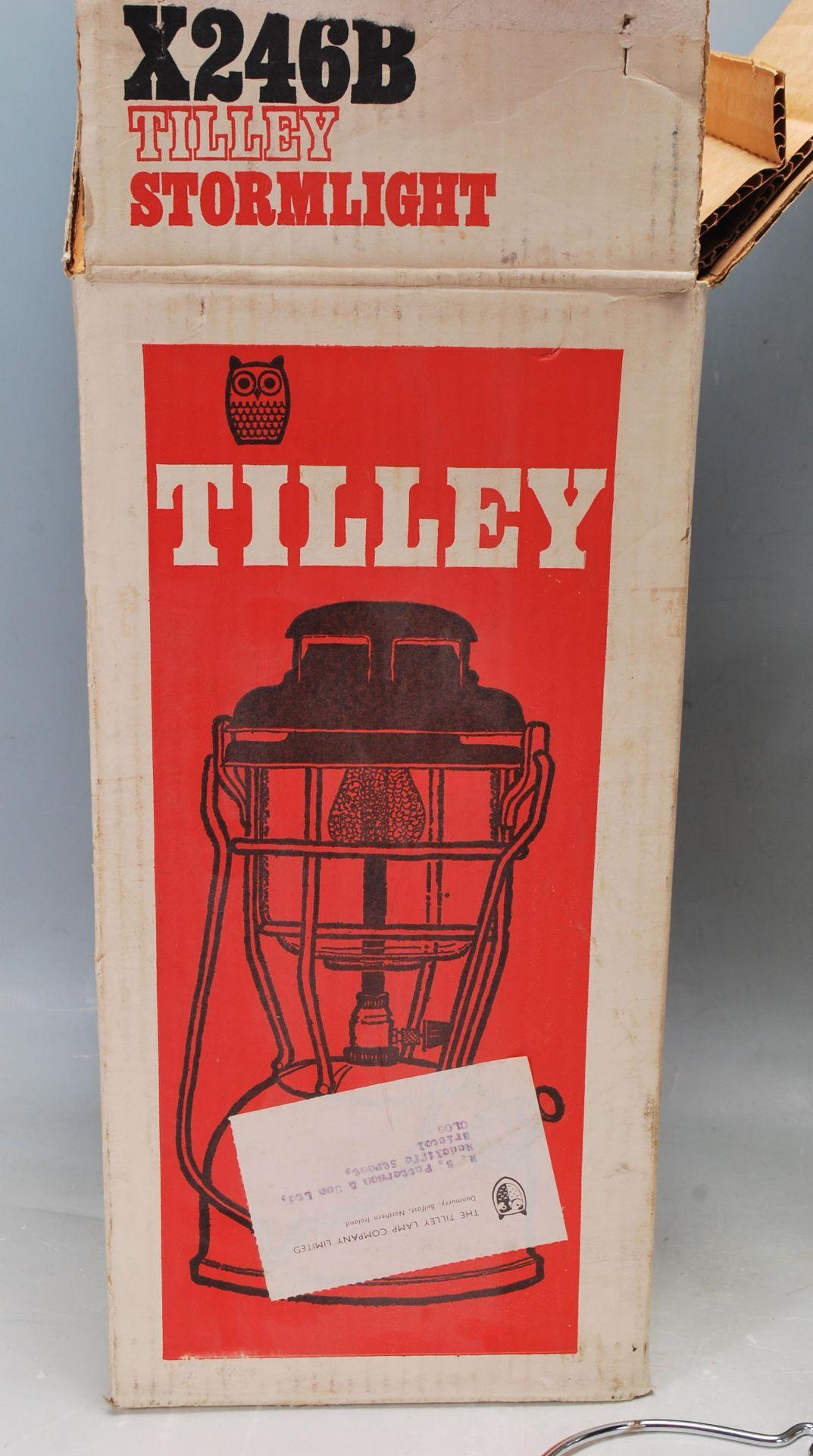 VINTAGE TILLEY STORMLIGHT MODEL X246B PARAFFIN LAMP - Image 7 of 7