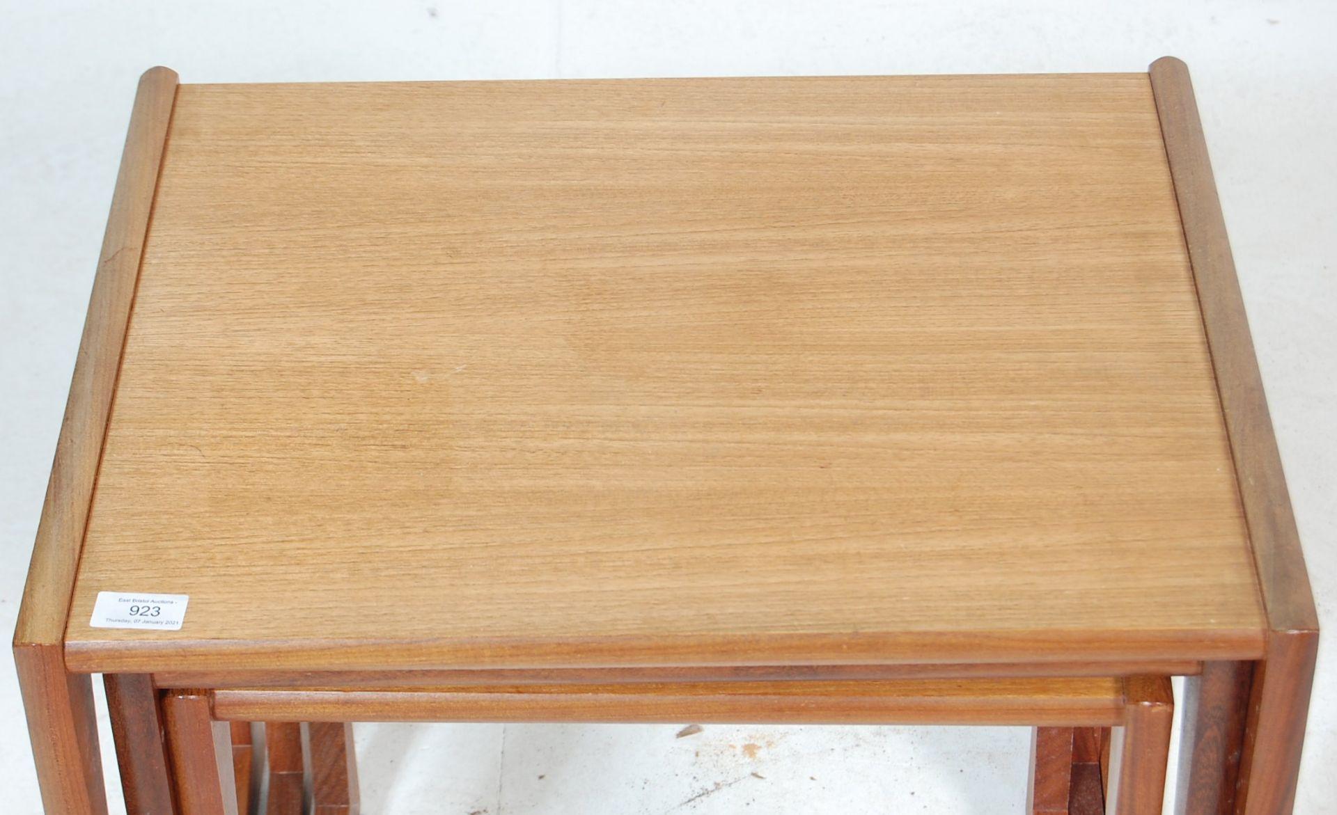 A RETRO 1960'S TEAK WOOD G PLAN FRESCO NEST OF TABLES - Image 3 of 4