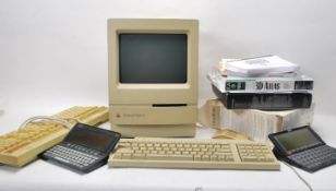 COLLECTION OF MAC MACINTOSH APPLE AND PSION COMPUTER RELATED EQUIPMENT.