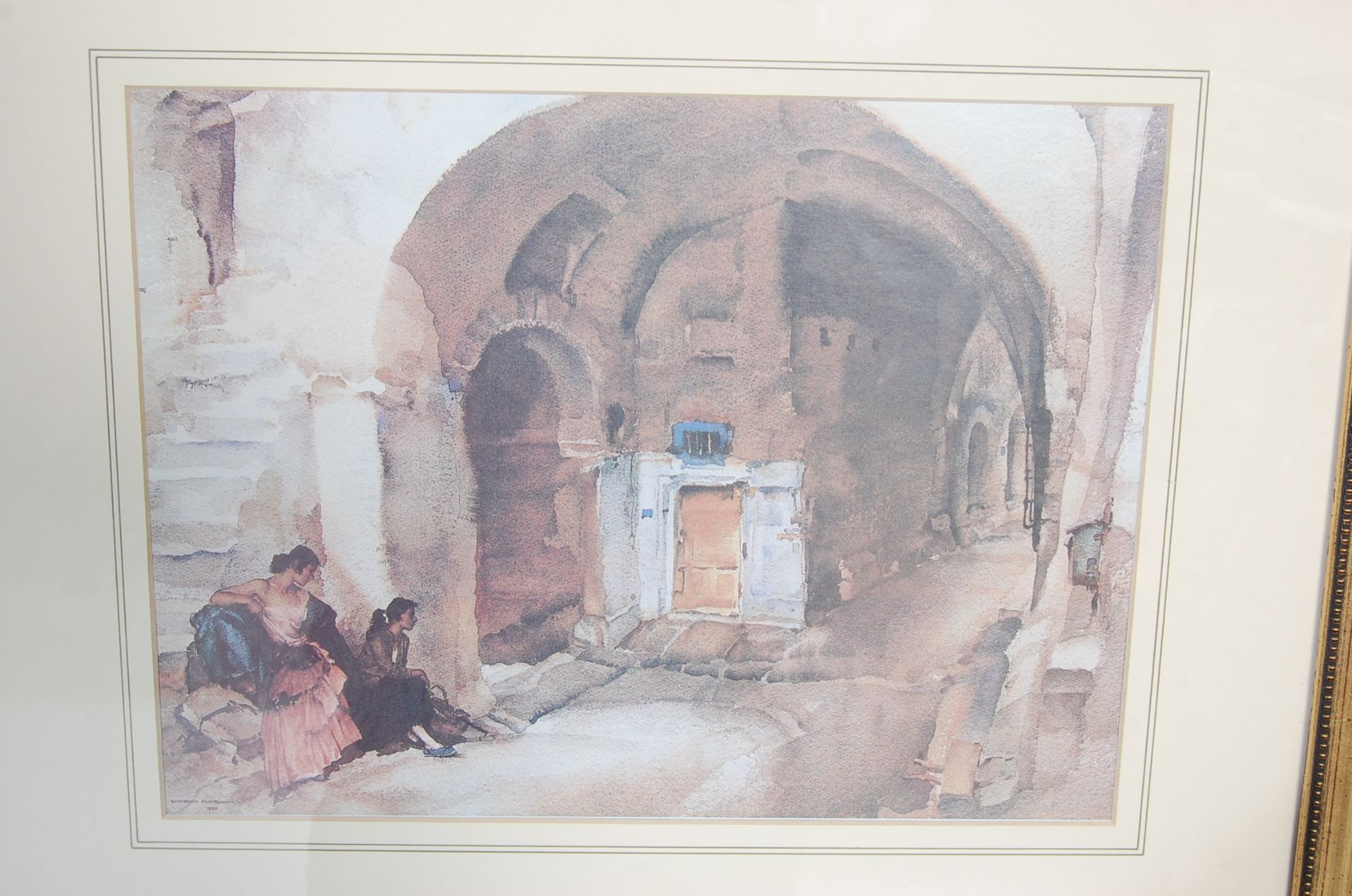 SEVEN WILLIAM RUSSELL FLINT PRINTS - Image 6 of 10