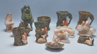 COLLECTION OF VINTAGE MID CENTURY 1950S SYLVAC POTTERY