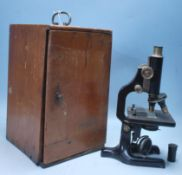 OF SCIENTIFIC INTEREST - EARLY 20TH CENTURY MICROSCOPE