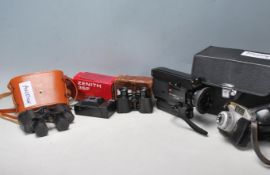 COLLECTION OF VINTAGE RETRO CAMERA EQUIPMENT