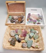 LARGE QUANTITY OF VINTAGE MINERAL CRYSTALS