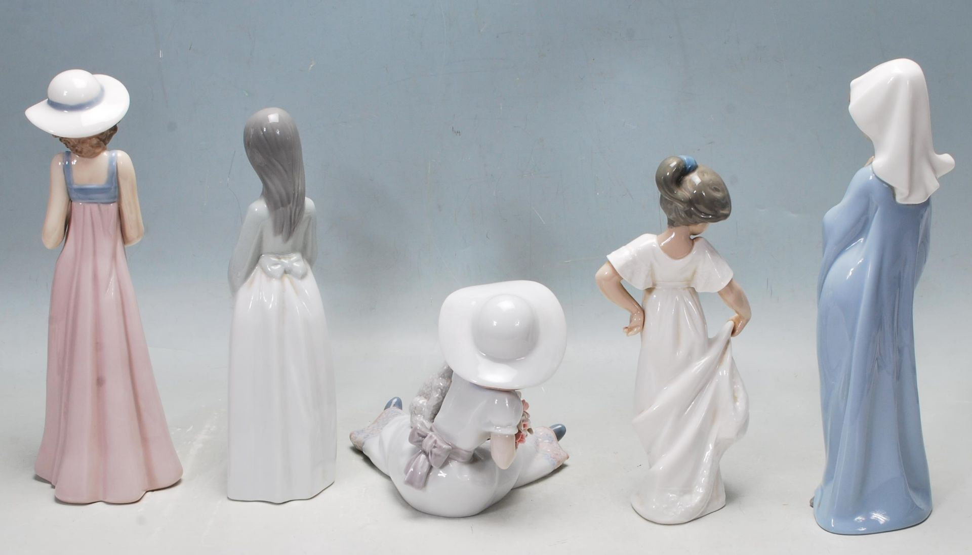 COLLECTION OF LATE 20TH CENTURY NAO FIGURINES - Image 3 of 10