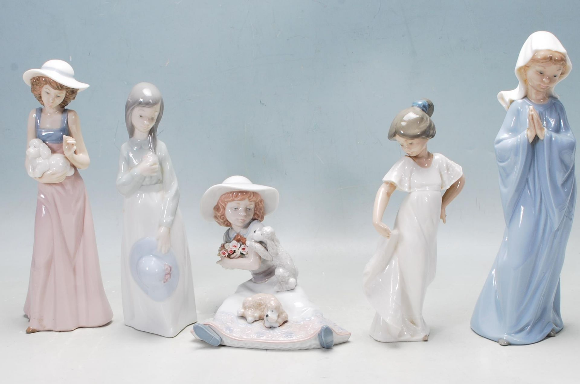 COLLECTION OF LATE 20TH CENTURY NAO FIGURINES - Image 2 of 10