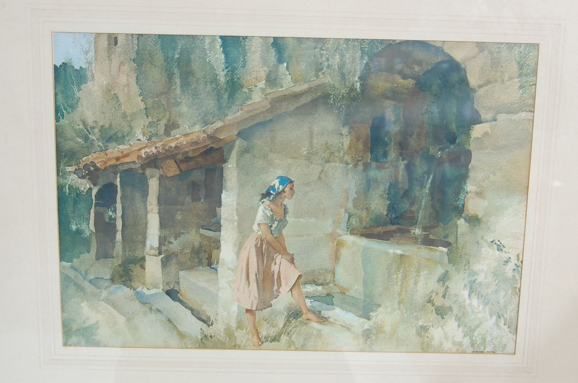 SEVEN WILLIAM RUSSELL FLINT PRINTS - Image 5 of 10