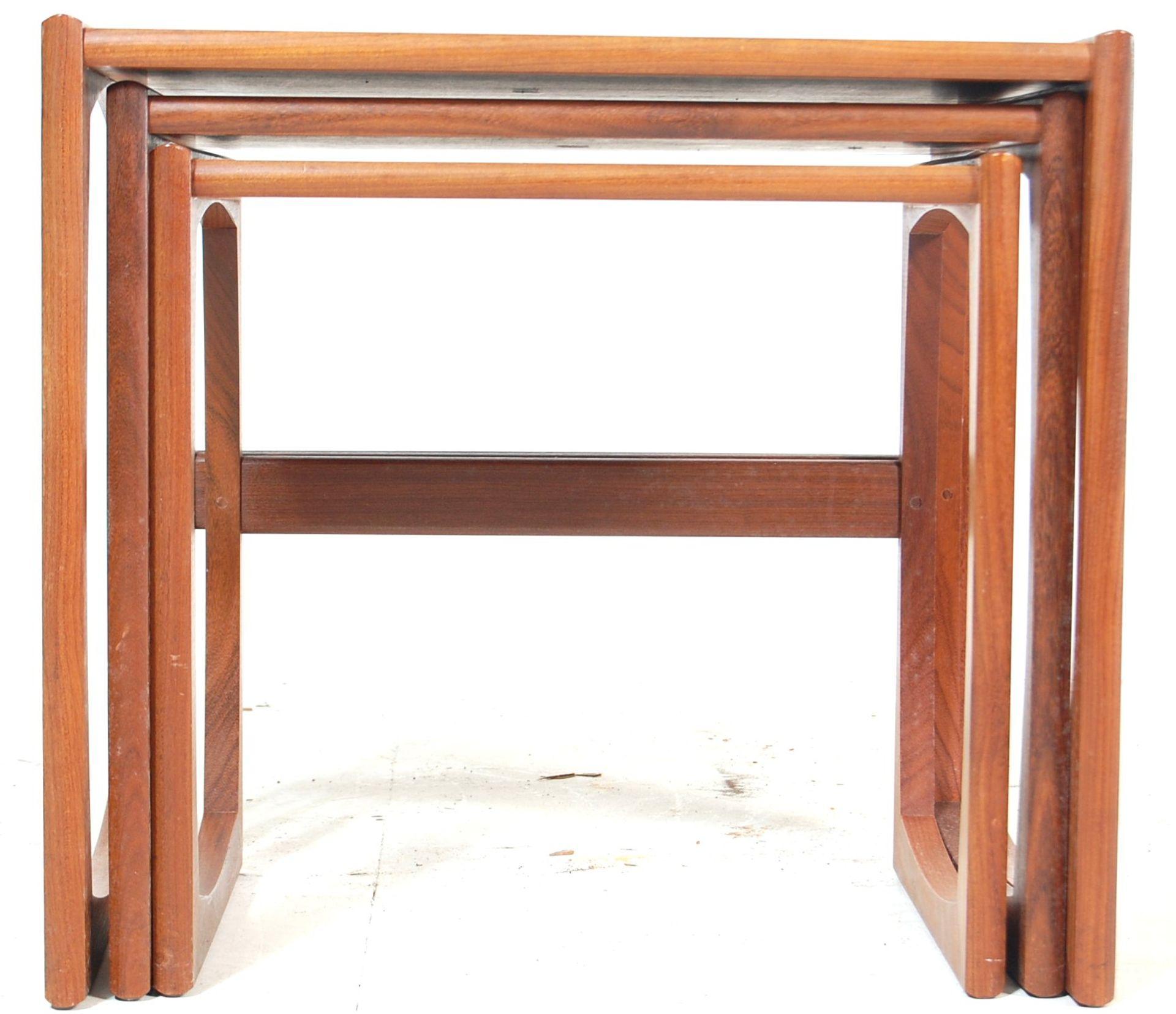 A RETRO 1960'S TEAK WOOD G PLAN FRESCO NEST OF TABLES - Image 2 of 4