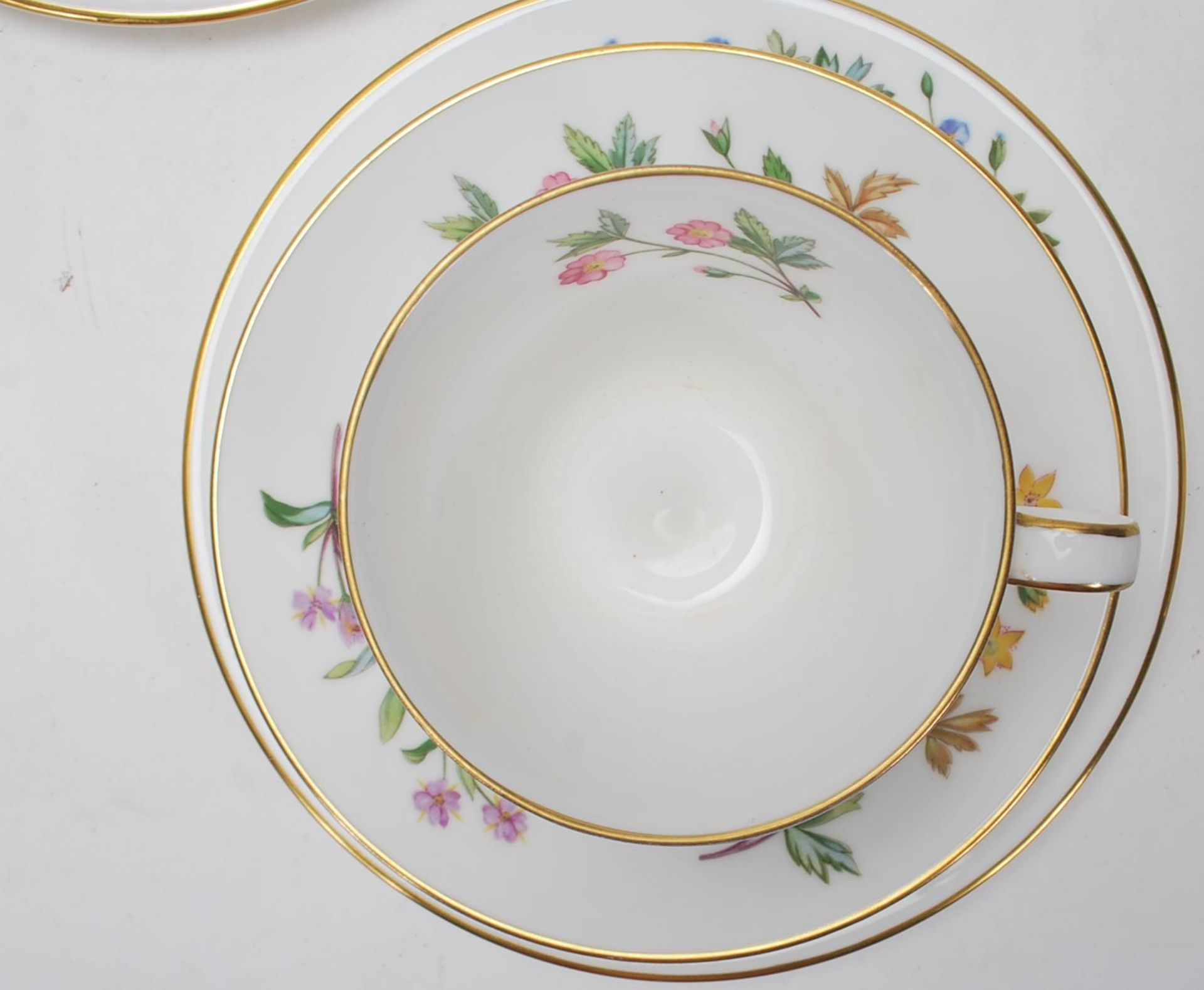 MINTON MEADOW PATTERN BONE CHINA TEA SERVICE - Image 4 of 12