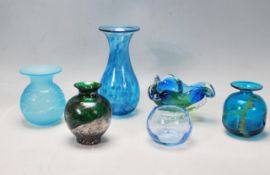 GROUP OF VINTAGE STUDIO ART GLASS MURANO / MDINA AND OTHER PAPERWEIGHTS