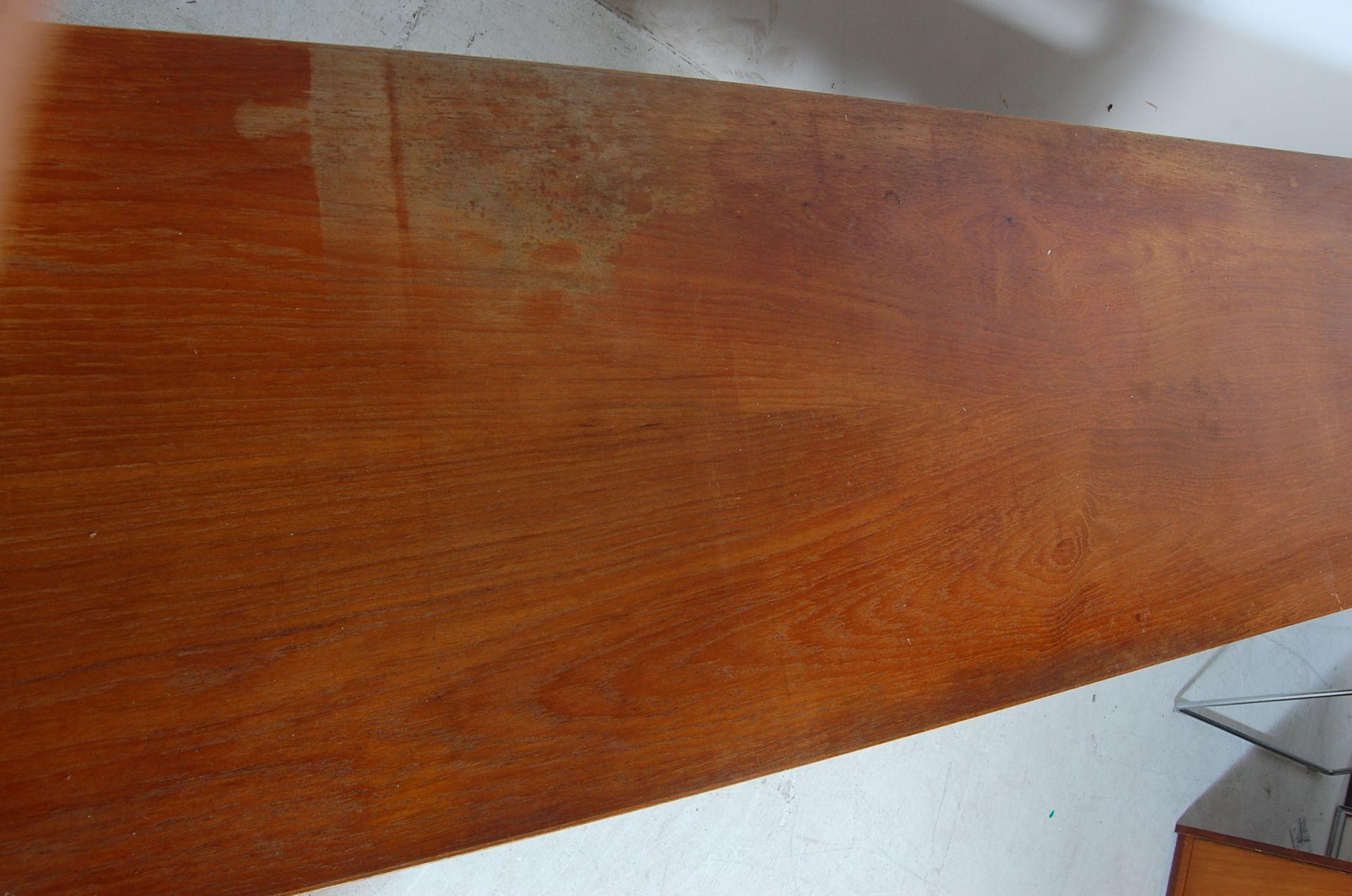 MID CENTURY TEAK WOOD STEREO HI-FI CABINET SIDEBOARD - Image 3 of 6