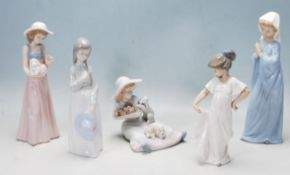 COLLECTION OF LATE 20TH CENTURY NAO FIGURINES