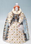 AROYAL WORCESTER QUEEN ELIZABETH I LIMITED EDITION CERAMIC FIGURINE 944/4500