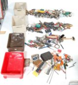 LARGE QUANTITY OF VINTAGE ENGINEERS TOOLS AND SPECIAL TOOLS