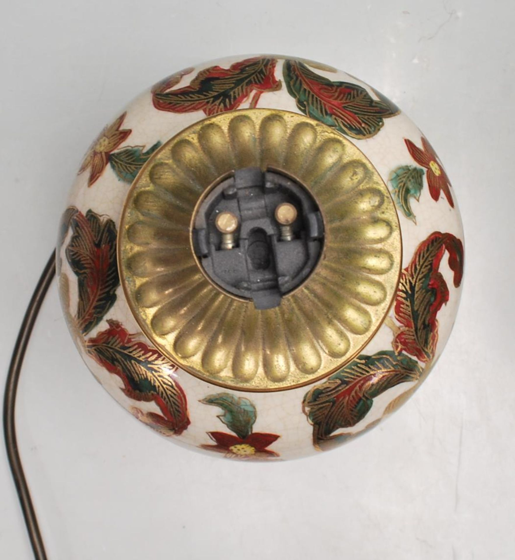 COLLECTION OF KUTANI / FAMILLE ROSE TABLE LAMPS - Image 7 of 7