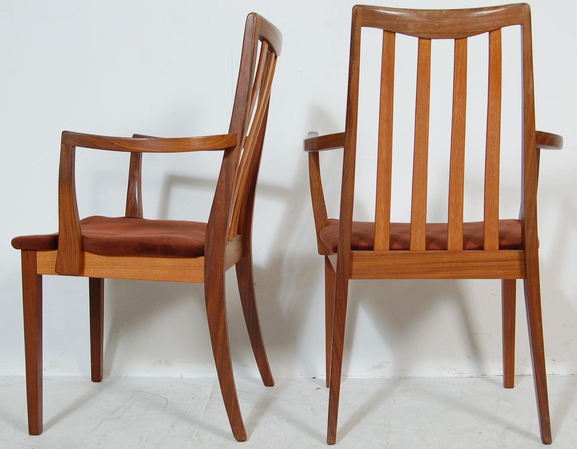RETRO VINTAGE 1970S GPLAN DINING TABLE AND CHAIRS - Image 12 of 12