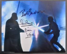STAR WARS - DAVE PROWSE & BOB ANDERSON - SIGNED PHOTO