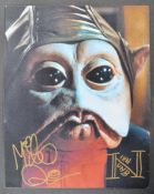 STAR WARS - MIKE QUINN - NIEN NUNB - SIGNED PHOTO